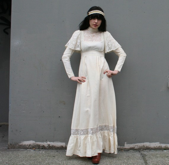 Vintage Wedding Dresses Philadelphia: 70's Wedding Dresses